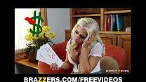 Slutty big-tit blonde Sammie Spades fucks hard ...