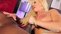 Jody stuffs big tit MILF Alura Jenson with his BBC thumb