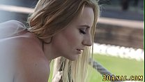 Babe gets anal from bbc