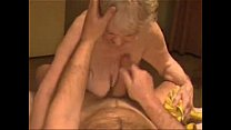 Facial on a very old granny. Amateur older preview image