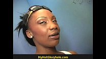 Hot Girl Blows A Stranger In A Bathroom Gloryhole 17