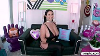 NYMPHO Penetrating all of Angela White's tight holes