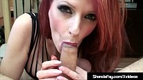 Canadian Cougar Shanda Fay Pegs Hubby Right Up The Butt!