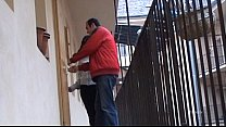 Real couple filmed in a hot sex scene