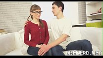 Hot nerd copulates like a doxy pornhub video