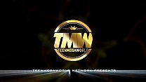 TeenMegaWorld.net - Nelya - Slim Nerdy Babe Gets Juicy Cumshot