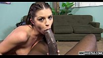 Hard black dick for sexy Brooklyn Chase