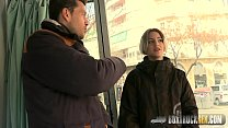 Hot Mey Madness Plays with a Powerful Vibrator in Public Vorschaubild
