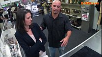 Customers wife pounded by nasty pawn man at the... Thumbnail