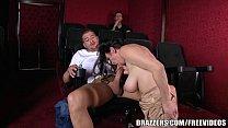 11342 Brazzers - Dude fucks stepmom in the porn theater preview