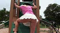 Upskirt Fantasy with Mommy