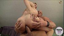 Gorgeous shemale Tyra Scott anal banged