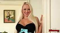 Alana Evans Gags On A Huge Black Dick While Her... thumb