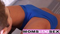 8030 Steamy workout turns hardcore with mom and daughter preview