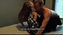 Sexy college couple having sex real homemade horny passionate wild sex
