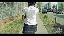 Young Ebony School Girl Gets Fuck Really Hard @
