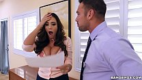 BANGBROS - Latina MILF Squirt Machine Ariella Ferrera Is  On Notice video