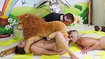Brutal, painful anal for sweet whorothy and her dog hoho: xxx miss teacher thumbnail