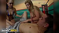 Two Studs Fight For MILF Sara Jay and Kristina Rose's Booties » katies world thumbnail