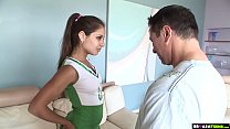 Dirty Cheerleader Jynx Maze Fucks A Stranger