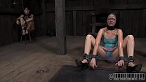 Leather pet gets her suffocating mask removed Thumbnail