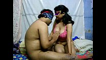 Cock riding porn scene with Indian wife Savita ...