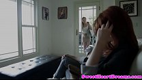 Romantic girlfr iend orally pleasured by babe asured by babe