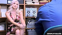 White haired teen gets caught stealing and gets punished! Preview
