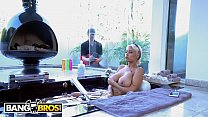 BANGBROS Chris  Strokes Spies On Busty Babe Br n Busty Babe Bridgette B And Get