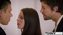 TUSHY Lana Rhoades First Double Penetration Preview