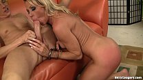 Super Hot Blonde Milf Gets Fucked Good And Hard! Thumbnail