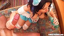Little Britney Swallows' Anal & Ass To Mouth Fu