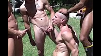 Piss and Bareback outdoor