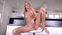 Nancy Enjoy Fingering Her Tight Shaved Pussy