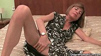 British grannies need their daily orgasm - Milf Computer thumbnail