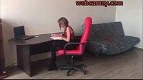 Hot student in stockings masturbating - webcamzy.com