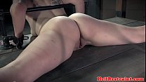 Bigbooty sub getting toyed and whipped video