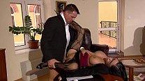 Sekretärin bläst und fickt ihren Chef und geht fremd HD deutsch german Vorschaubild