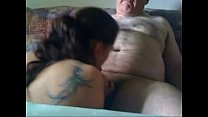 Young Chick Sucks Off Old man Preview