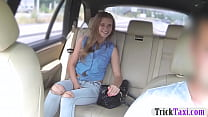 Cutie passenger fucked in the backseat Thumbnail