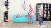 Sexy blonde Lola Shine hard anal
