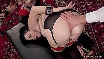 suganya sex videos, Redhead helps master anal fuck brunette thumbnail