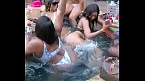 Big boob's Girl gets fucked on a pool party