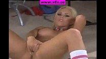 Hot blonde teen masturbation صورة