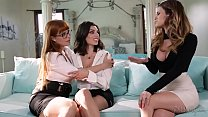 You're a lesbian? Prove it. - Penny Pax, Vanessa Veracruz and Darcie Dolce Preview