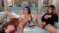 You're a lesbian? Prove it. - Penny Pax, Vanessa Veracruz and Darcie Dolce video