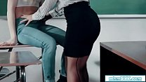 Ivy licks stepmom teacher for high grade's Thumb