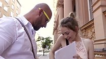 BITCHES ABROAD - Petite American tourist Angel Smalls gets ass fucked Preview