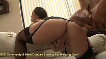 Kristina Rose Has Her Hairy Hole Stuffed With Cock - 9Club.Top
