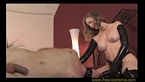 Sey Mature Strapping a Young Guy with a Huge Black Cock - More @ www.free-extreme.com Thumbnail